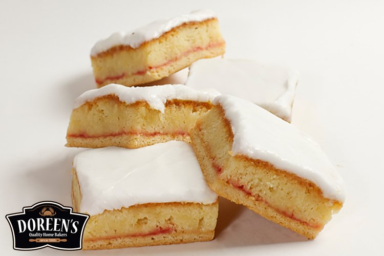 Almond Squares from Doreen's Bakery, Cork