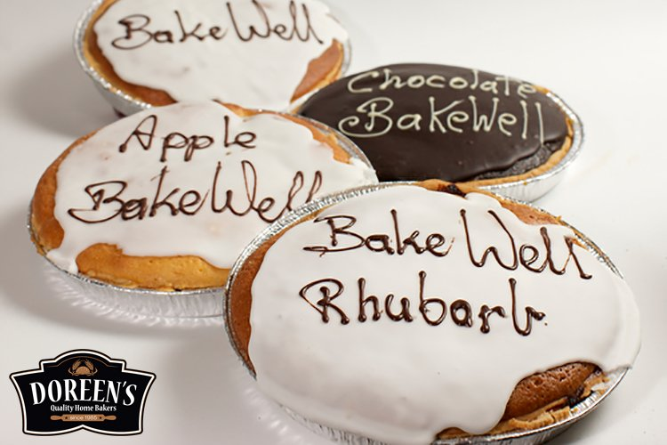 Bakewell Tarts from Doreen's Bakery, Cork