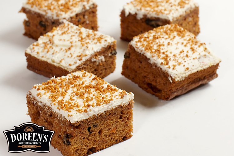 Carrot Cake Squares from Doreen's Bakery, Cork