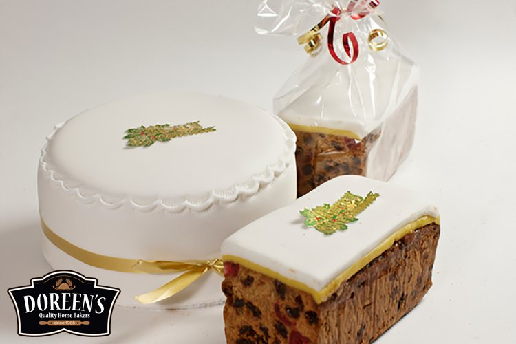 Christmas Cakes from Doreen's Bakery, Cork