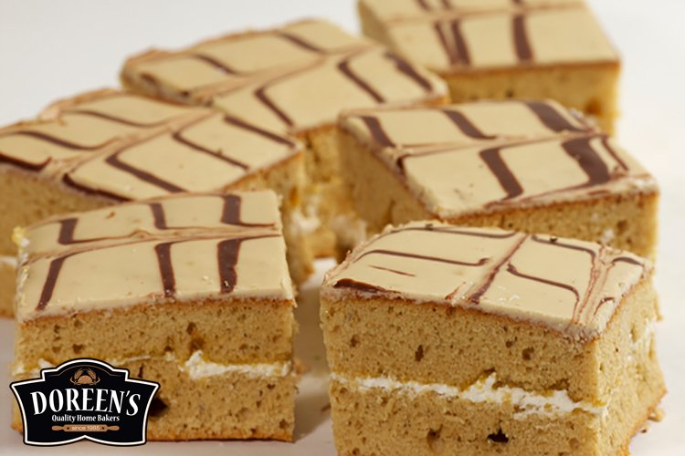 Coffee Squares from Doreen's Bakery, Cork