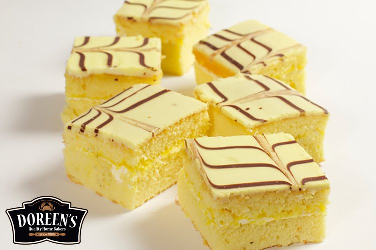 Lemon Squares from Doreen's Bakery, Cork