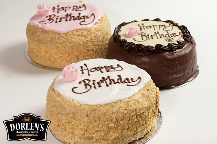 Madeira Birthday Cakes from Doreen's Bakery, Cork