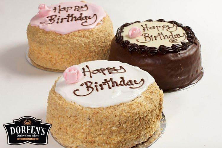 Madeira Birthday Cakes from Doreen's Bakery, Cork