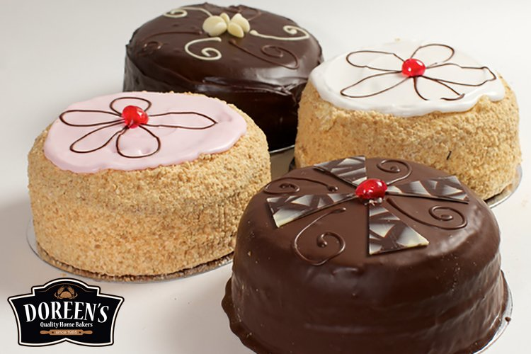 Madeira Specialist Cakes from Doreen's Bakery, Cork