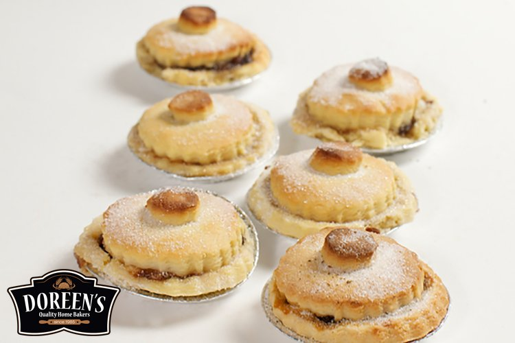 Mince Pies from Doreen's Bakery, Cork