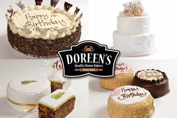 Speciality Cakes And Wedding From Doreens Bakery Cork