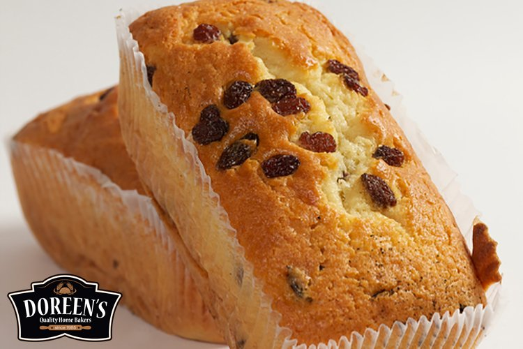 Sultana Loaf Cake from Doreen's Bakery, Cork