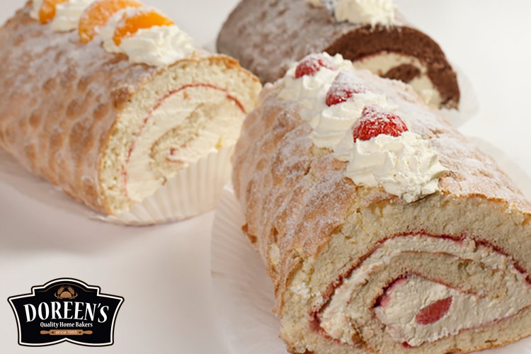 Swiss Rolls from Doreen's Bakery, Cork