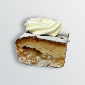 Apple and Cream Square - Doreen's Bakery