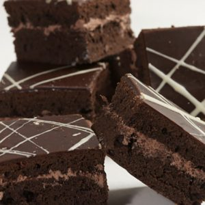 Chocolate Fudge Squares - Doreen's Bakery