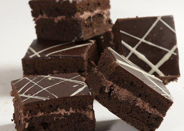 Chocolate Fudge Squares - Doreen's Bakery