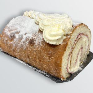 Fresh Cream Vanilla Swiss Roll - Doreen's Bakery