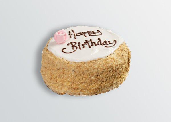 Lemon Madeira Birthday Cake - Doreen's Bakery