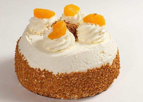 Mandarin Gateaux - Doreen's Bakery