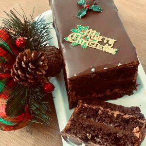 Doreen's Bakery - Christmas Chocolate Fudge Log